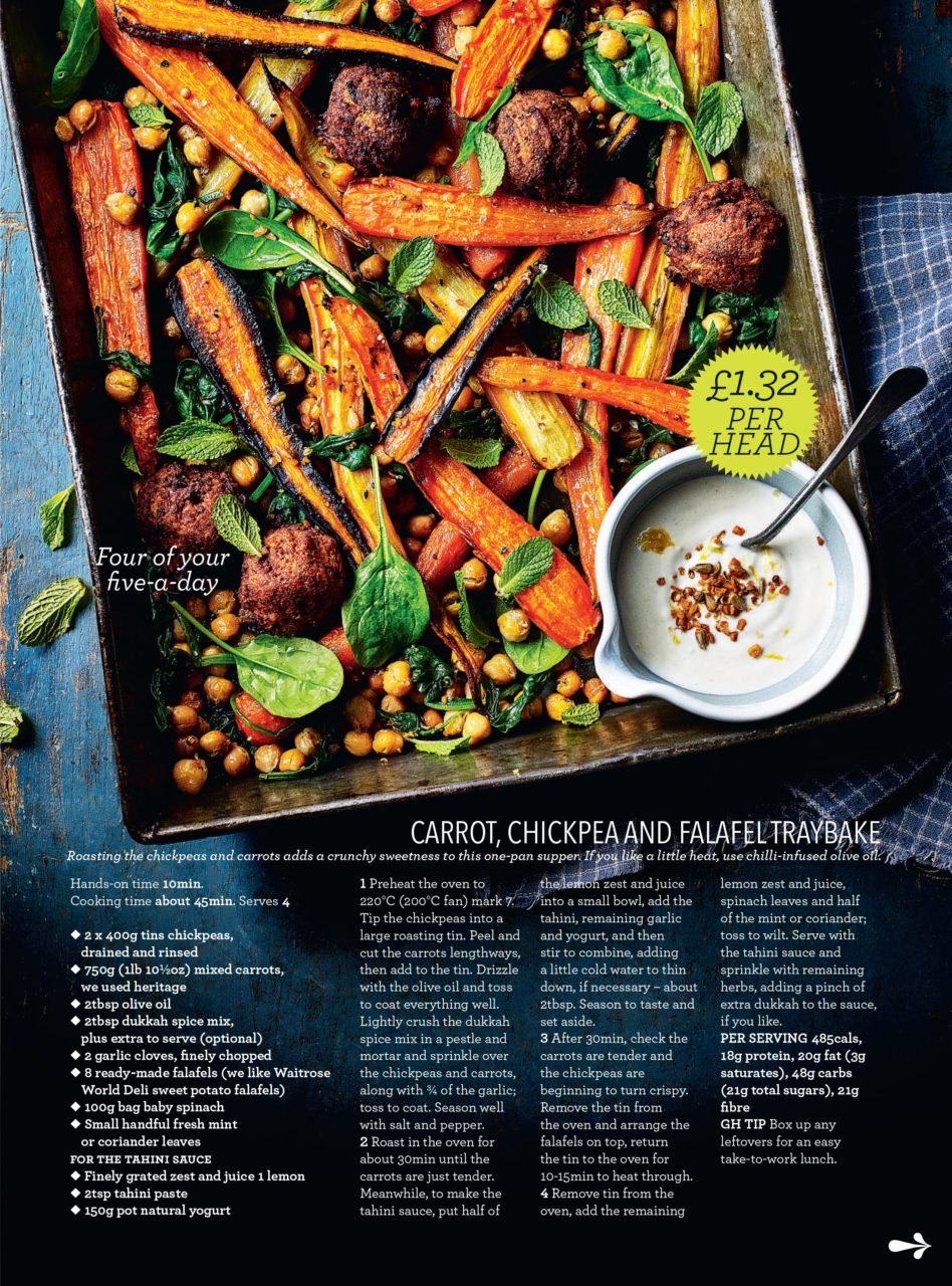 Midweek Meals - Good Housekeeping UK - Kris Kirkham Photography