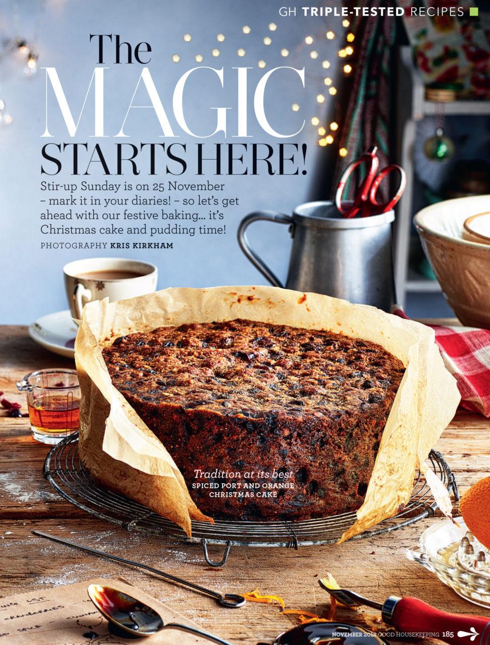 Magazine pdf cake