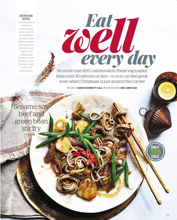 Eat Well Every Day - Beef stir fry